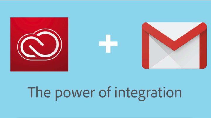 Adobe 與 Google Cloud 宣布推出 Gmail 適的 Creative Cloud 整合工具