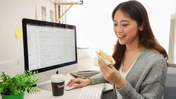全新 7 仔日系早餐組合  「 黑松露醬濃厚滑蛋三文治 」 HK$24 必試