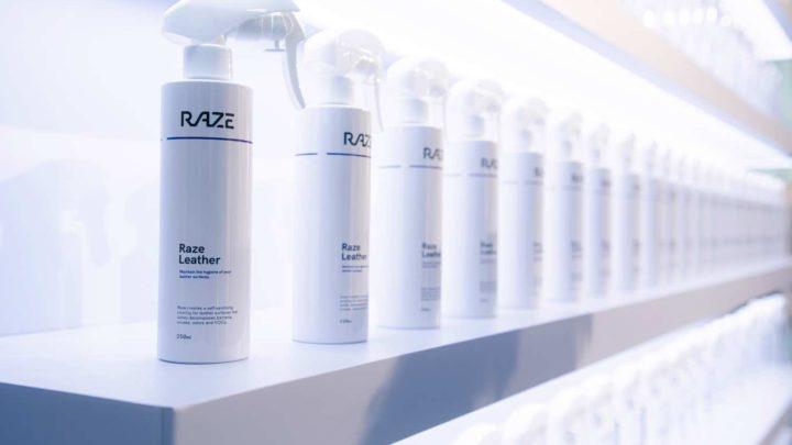 RAZE 光觸媒噴霧有效對抗 99.99% 病原體 噴一噴提供 3 個月的保護