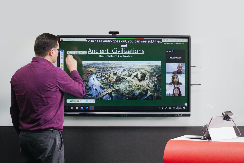 ViewSonic 提供中小學以及大專院校免費遠距學習軟體 myViewBoard
