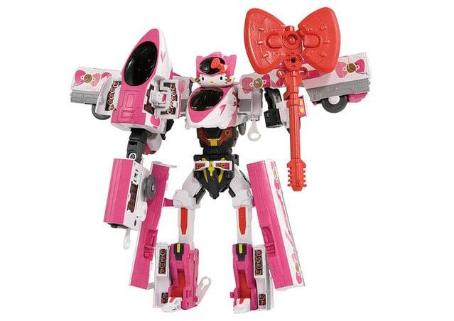 最可愛的新幹線戰士現身 DXS Shinkalion Hello Kitty 登場