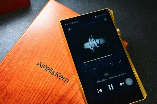Astell&Kern A&ultima SP2000 Vegas Gold 限定版   另類奢華音質感受
