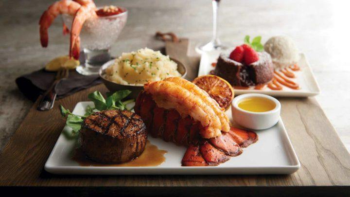 Morton's The Steakhouse 推出【 牛扒海鮮套餐 】 一次過食盡海陸美食