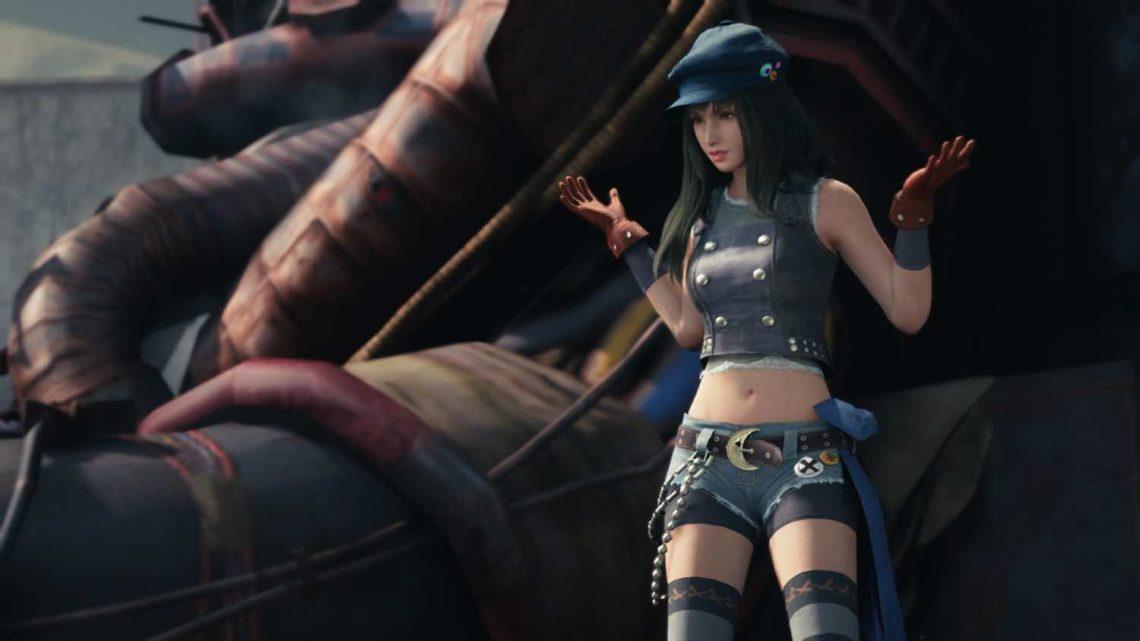 《 FINAL FANTASY VII REMAKE 》新素材  琪里耶‧卡南成新一代女神?