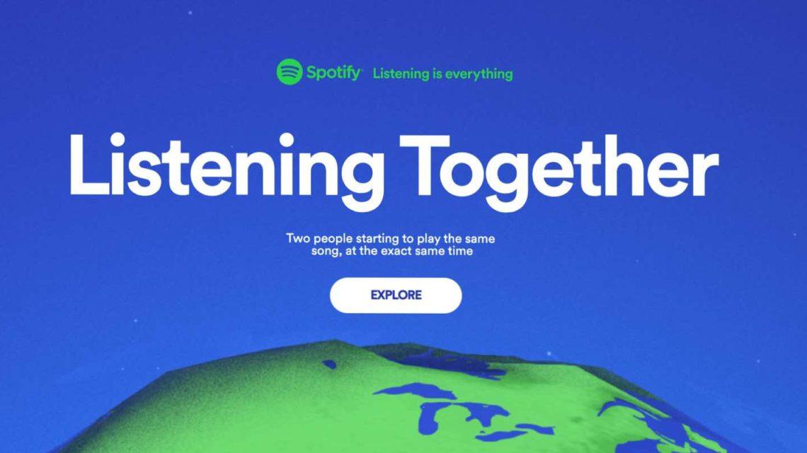 Spotify 宣布推出「 Listening Together 」活動 以音樂聯繫社區