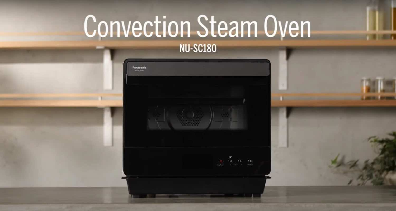Panasonic NU-SC180W 蒸氣焗爐 蒸焗炸燉樣樣掂輕鬆炮製佳餚