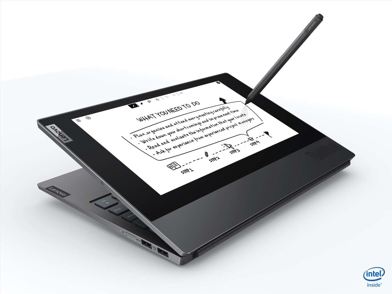 Lenovo ThinkBook Plus 雙屏幕筆記本電腦 同時處理多項任務提升生產力