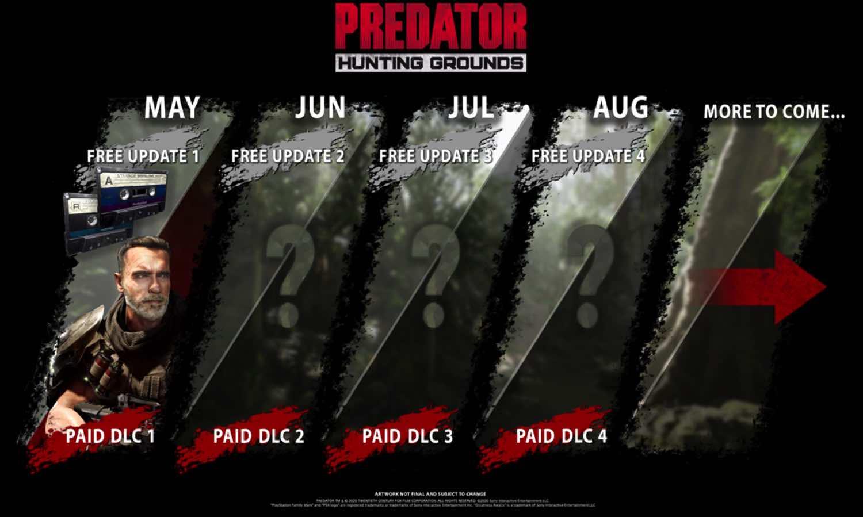 達奇於《 Predator: Hunting Grounds 》中重回叢林  首次公開免費付費內容