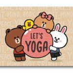 LINE FRIENDS YOGA DAY 拍 NIKE 星級瑜伽導師  一齊起身做瑜伽