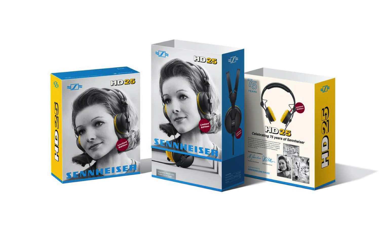 Sennheiser 於 6 月踏入 75 周年  推 HD 25 監聽耳機周年限量版