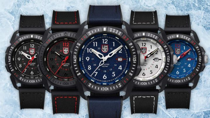Luminox ICE-SAR Arctic 1000 腕錶系列  海軍藍色「 XL.1003.ICE 」登場