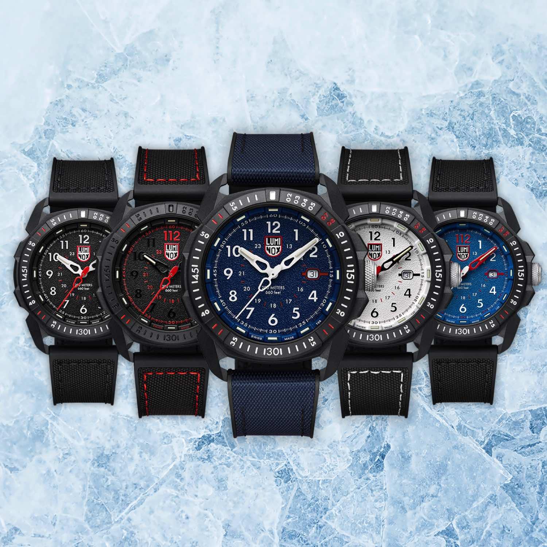 Luminox ICE-SAR Arctic 1000 腕錶系列  海軍藍色「 XL.1003.ICE 」登場
