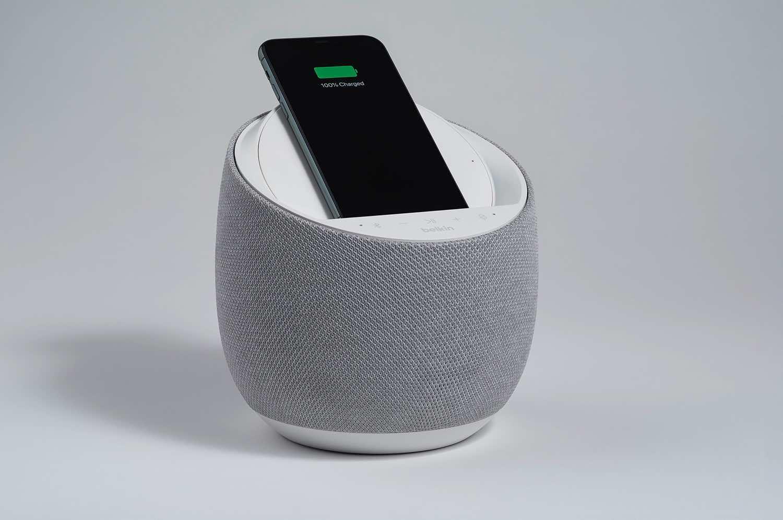 BelkinxDevialet推出 SOUNDFORM ELITE HI-FI 喇叭   無線充電一機兩用