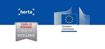 Herta獲頒歐盟委員會「COVID-19響應卓越印章」
