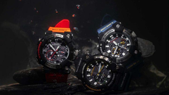 Casio G-SHOCK FROGMAN GWF-A1000  配備 ISO 200 米潛水功能