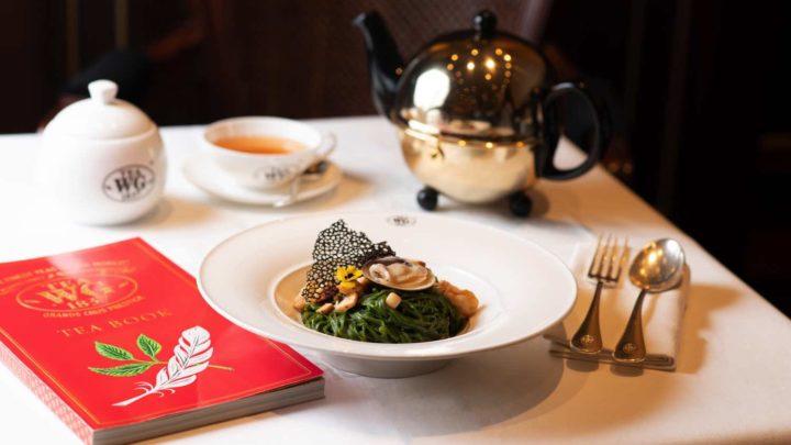 Tea WG 外賣自取餐單  五款以茶入饌期間限定七五折