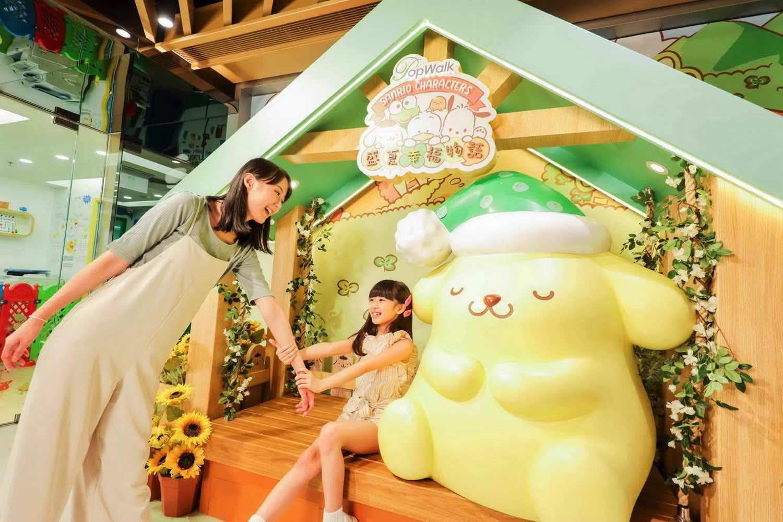 PopWalk 推出「 SANRIO CHARACTERS 盛夏幸福物語 」向日葵花海之約