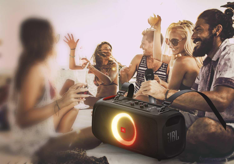 無得出街開 Party From Home   JBL PartyBox On-The-Go 可攜式藍牙喇叭