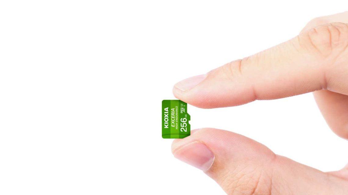 KIOXIA EXCERIA High Endurance microSD 記憶卡  專為拍片而設