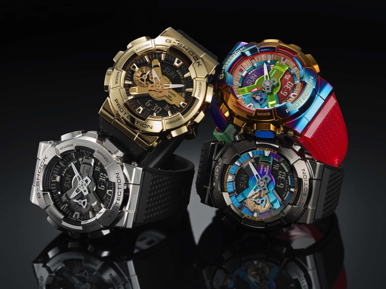 Casio G-SHOCK GA-110 加入金屬錶圈設計  打造不一樣的 GM-110 系列