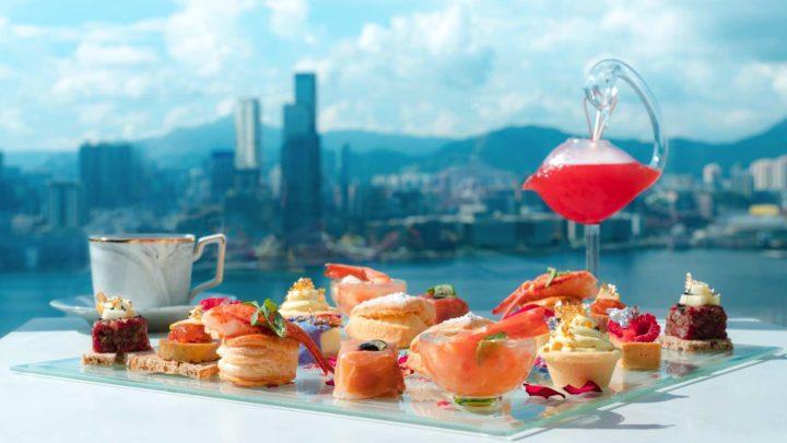 在維港邊賞花賞景兼飲下午茶鬆一鬆  ZENG 推出「夏日花見下午茶 」