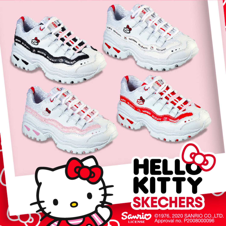 SKECHERS 夥拍 HELLO KITTY 推出 D'LITES ENERGY 休閒鞋系列
