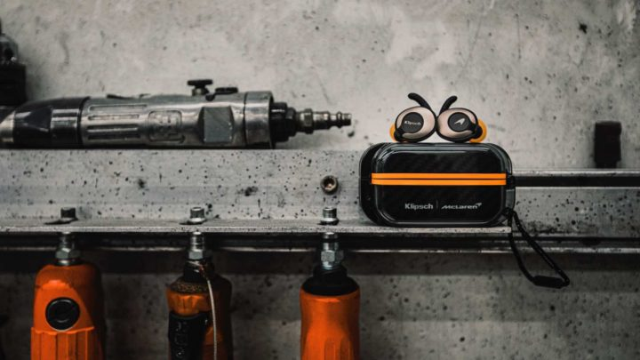 Klipsch T5 II True Wireless 耳機系列  麥拿倫( McLaren )版最搶眼