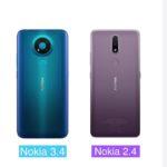 Nokia 2.4 / Nokia 3.4 千元平機 寬闊屏幕、AI成像技術、指紋解鎖有齊