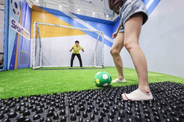 NAMCO 新競技場「 SPORTAINMENT ARENA 」  集運動與娛樂於一身