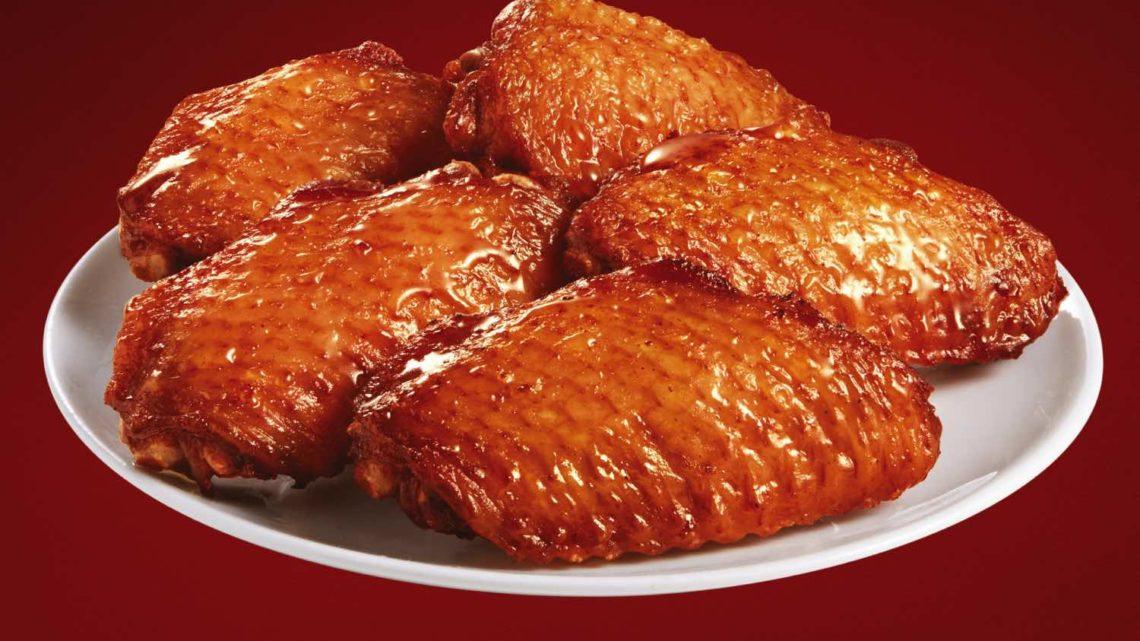 KFC 推全新「 蜜蜜燒雞中翼 」 蜜糖燒烤風味配原條「香熱粟米」