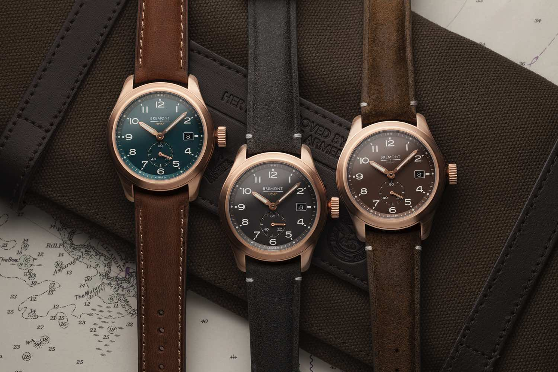 英國軍隊官方認證   Bremont Armed Forces 系列 Broadsword Bronze 腕錶