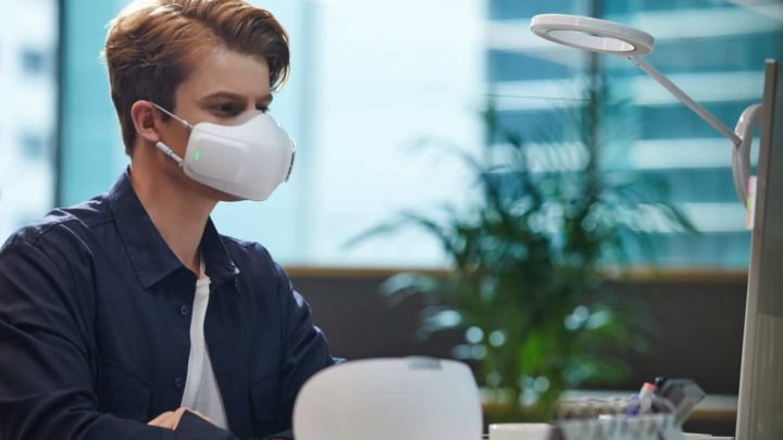 LG PuriCare 口罩形空氣清新機  為呼吸模式展開新時代