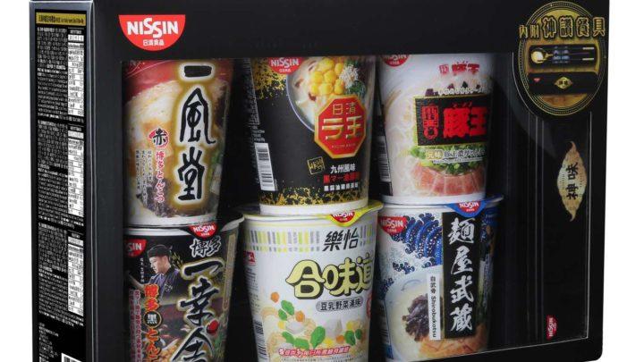 日清神味系列期間限定  「 日清神讚滋味禮盒 」6 種口味一次品嚐