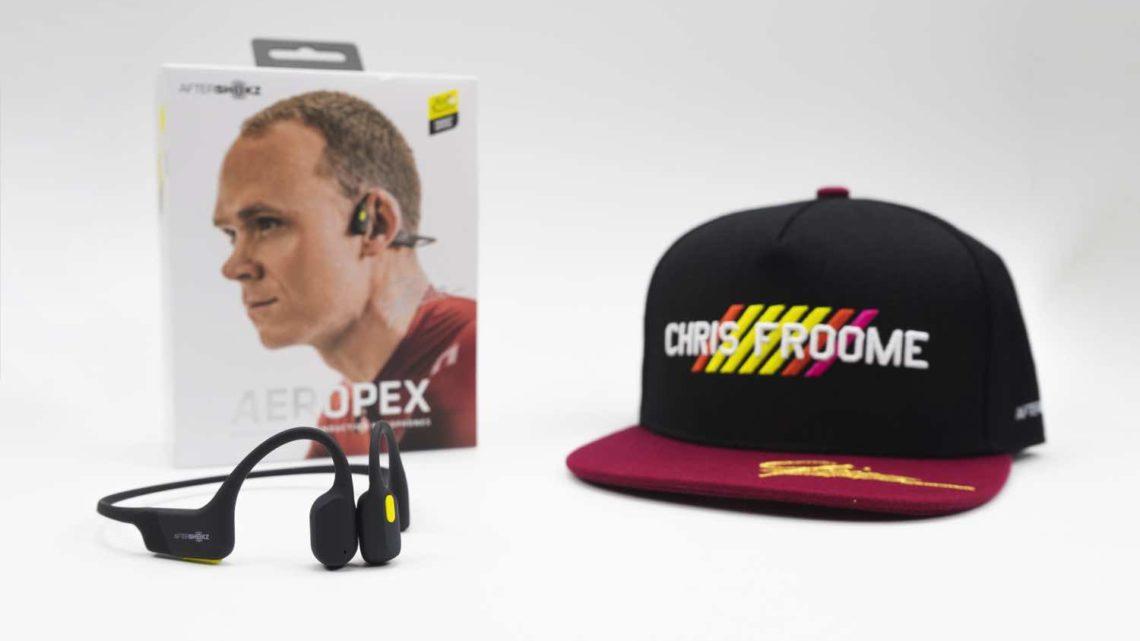 AfterShokz × Tour de France 環法限量版 Aeropex 套裝 Chris Froome 加持