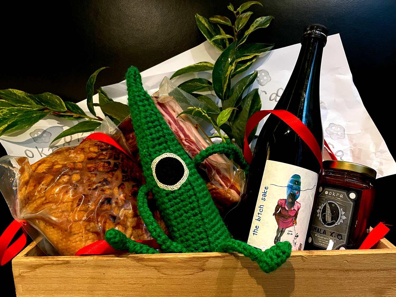 Okra 香港推出全新「 精美聖誕禮物籃 」  吟釀清酒共享節日氣氛