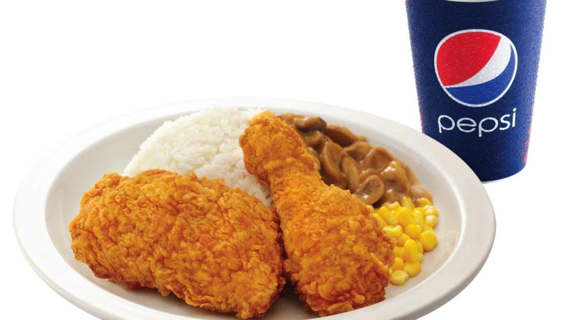 KFC 推出全新期間限定「 燒雞扒肉醬芝士焗飯 」  同場加映「鴛鴦雙式雞飯」