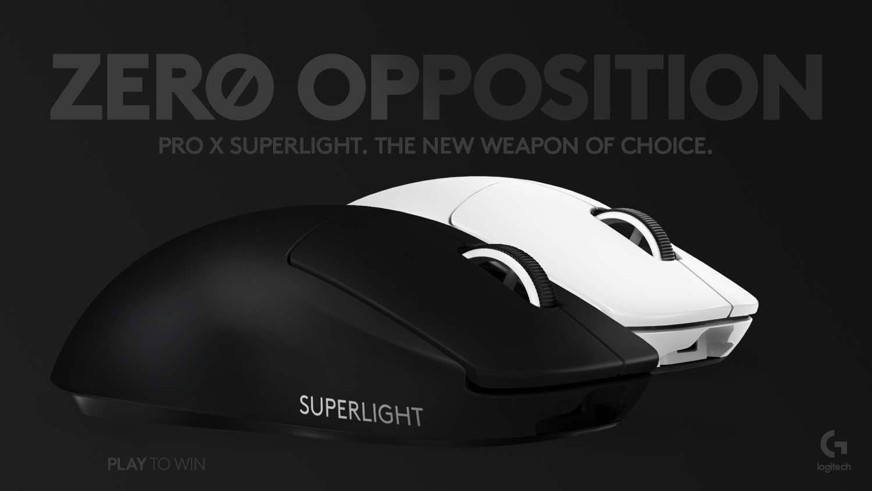 Logitech G PRO X SUPERLIGHT 開售 全球最輕無線遊戲滑鼠不足 63 克