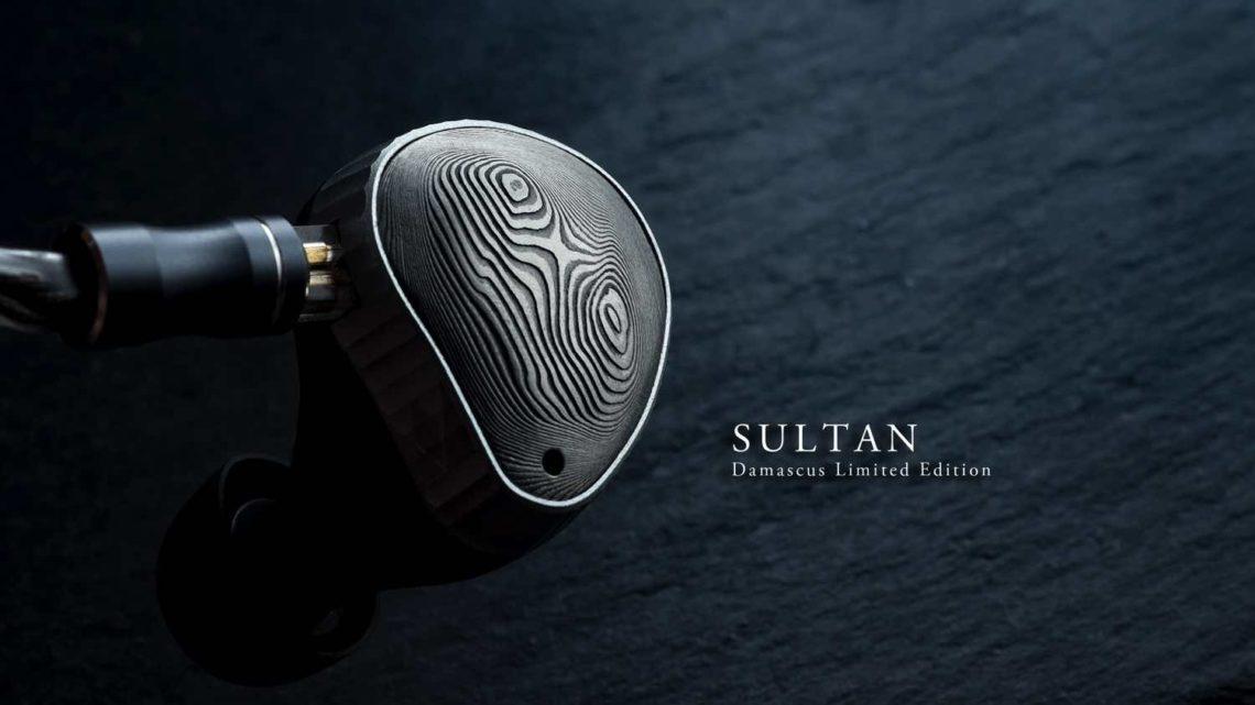 NOBLE AUDIO Sultan – Damascus Limited Edition  升級大馬士革鋼面板