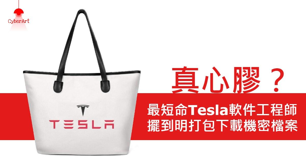 【真心膠?】最短命Tesla軟件工程師 擺到明打包下載機密檔案