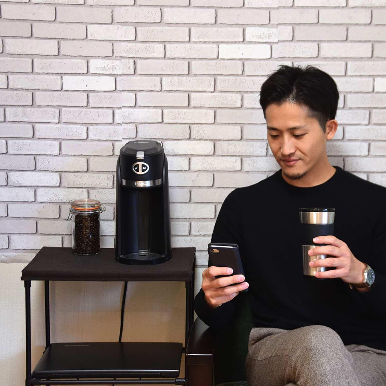 THANKO推出磨豆沖粉雙用式咖啡機 輕鬆享受品味生活