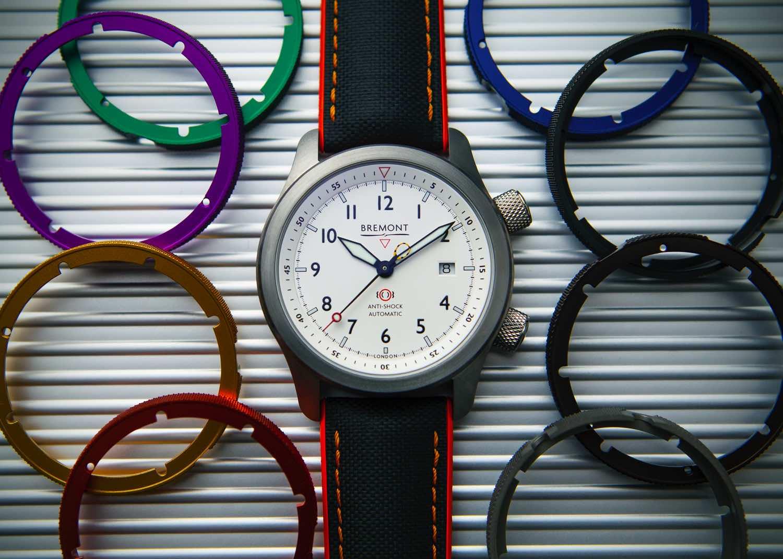 情人節將至想買情侶腕錶?  Bremont 推出網上自行配撘締造專屬錶殼
