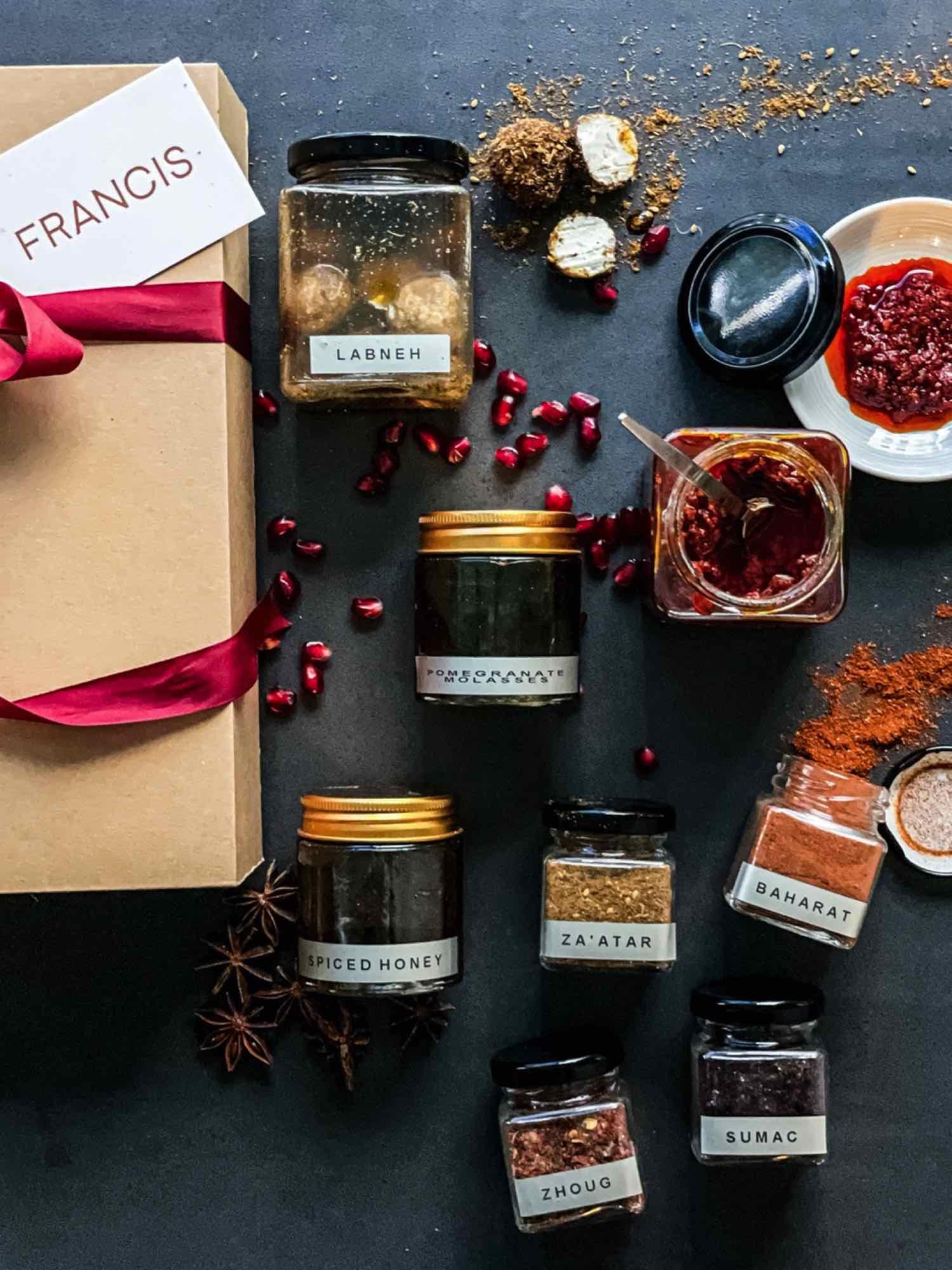 中東餐廳 FRANCIS  推出春季香料禮盒  自家製作多國風味