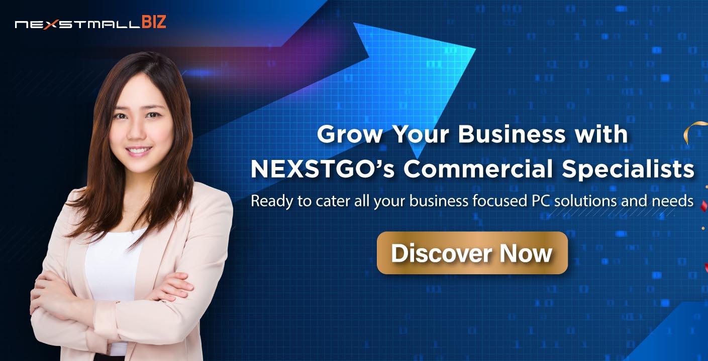 增強 NEXSTMALL BIZ 商務解決方案 以數碼策略推動中小企