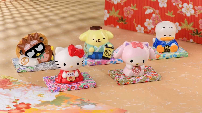 7-Eleven 購物滿 HK$108 隨機送出 Sanrio characters  「 開運小瓷罌 」