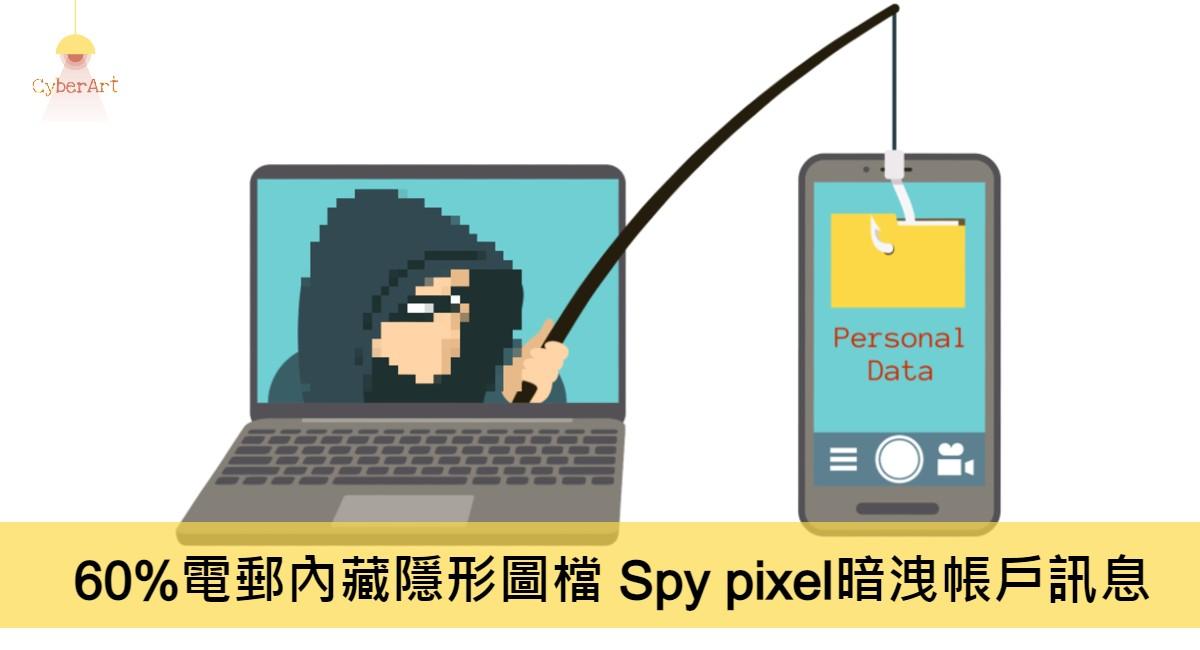 60%電郵內藏隱形圖檔 Spy pixel暗洩帳戶訊息