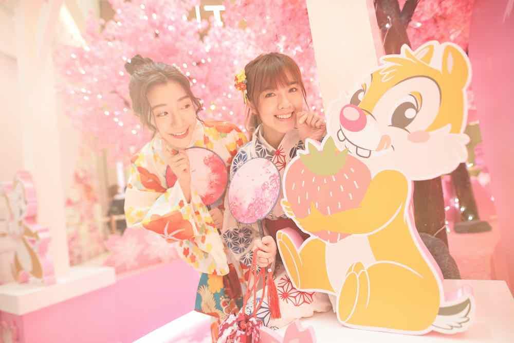 MOKO 「 MOKO春の花見 」  全港首間「 迪士尼櫻花季期間限定店 」