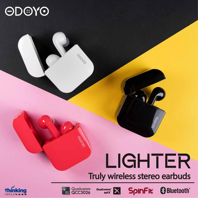 1 次夠你煲足一季劇!  「 超長氣王 」  ODOYO Lighter  真無線耳機