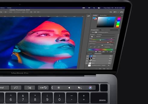 新版 Photoshop 支援 Apple Silicon M1 晶片 選取工具和濾鏡更快