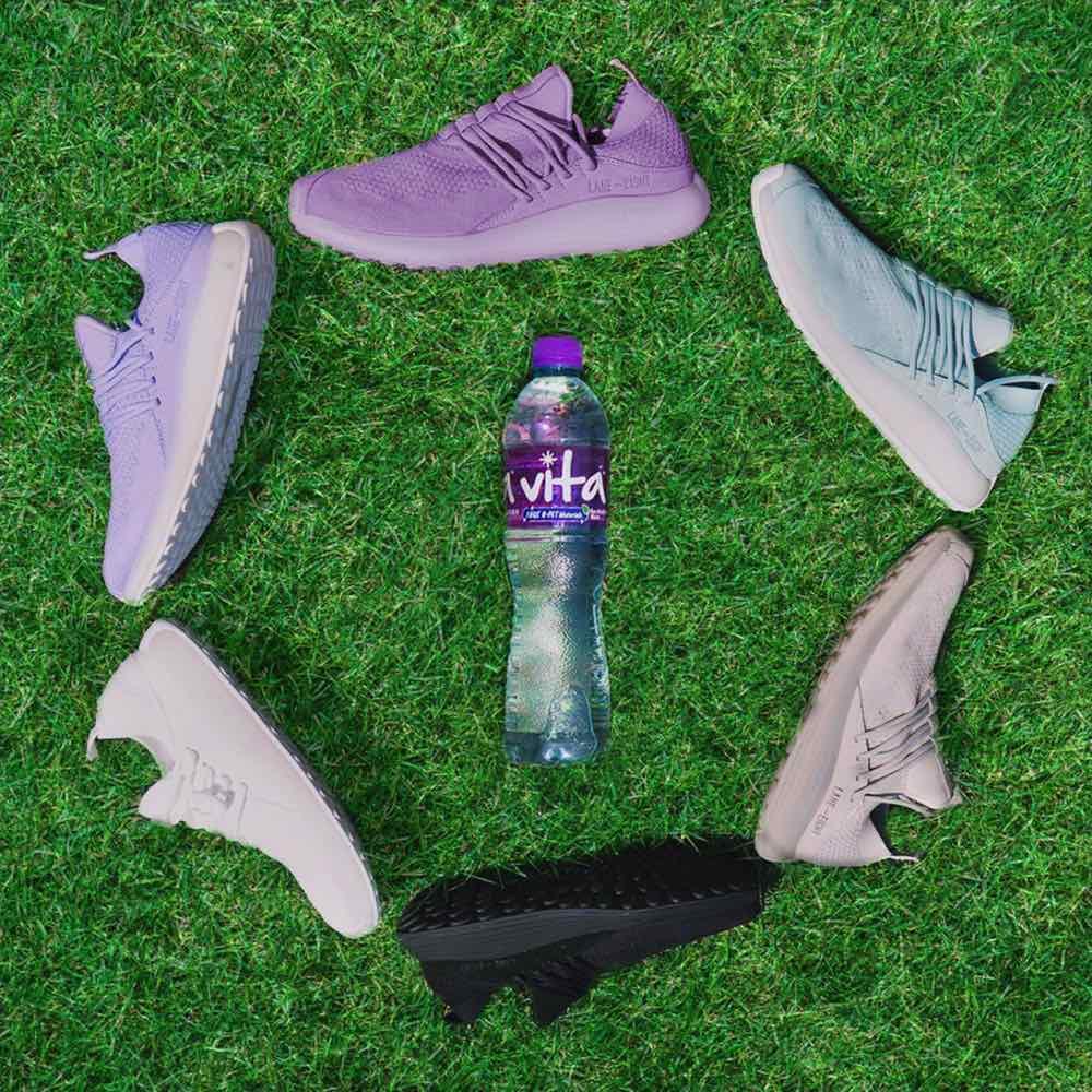 維他蒸餾水 x LANE – EIGHT   買水嬴 「 環保物料運動鞋及運動索袋套裝 」