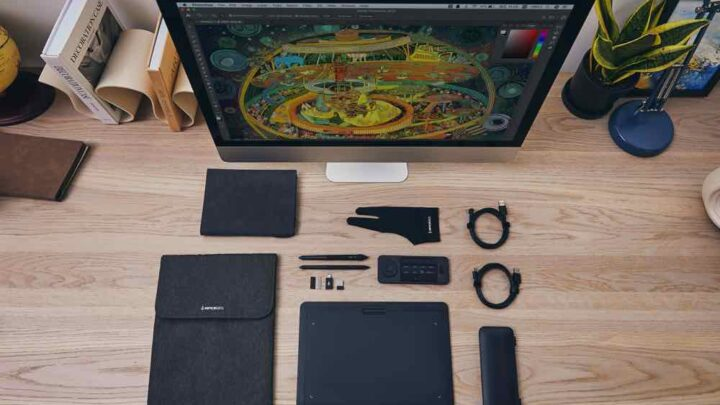 來自美國的  Xencelabs Pen Tablet Medium 為專業人士提供完善繪圖體驗